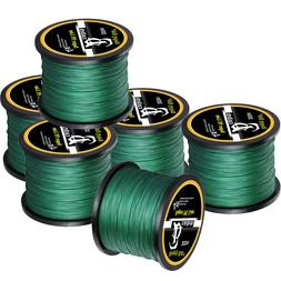 10-100LB Braided Fishing Line 4/8 STRANDS Super Strong Saltw