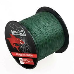 100M PE Nylon Fishing Line Fluorocarbon Strong Durable Braid