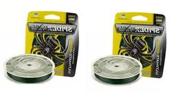 2 SpiderWire Ultracast Ultimate Braid Fishing Line Low- Vis