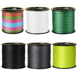 300/500/1000M Strong PE Braided Line Fishing 4 8 Strands Fre