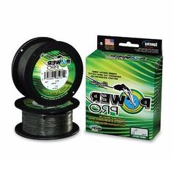 PowerPro Microfilament Braided Fishing Line - 500 Yards 2 Co