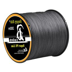 328/547/1093Yds Super Strong Braided Spool Fishing Lines 4 &