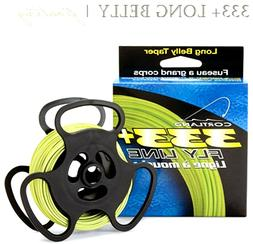 Cortland 333+ 'Long Belly' Fly Fishing Fly Lines