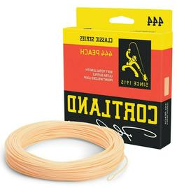 Cortland 444 Peach Double Taper Fly Line - ALL SIZES - FREE