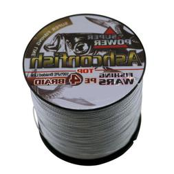 500M Super Strong Multifilament PE Line 4 Strands PE Braided