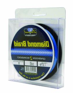 Momoi 63050 300-Yard Diamond Braid, 50-Pound, Brilliant Blue
