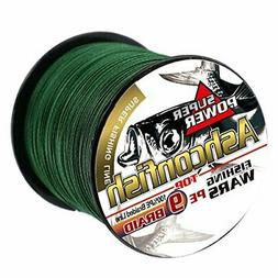 Ashconfish 9 Strands Braided Round Fishing Line