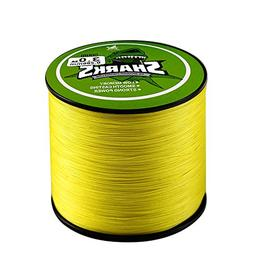 Handing Abrasion Resistance Fishing Line Yellow Color 500m/5