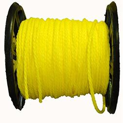 "AMR200-16121.016 * 200 Ft Aamstrand 3/8"" Twisted Yellow Poly"