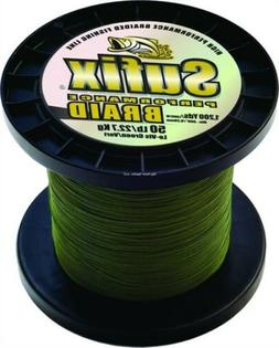 Sufix Performance Braid 50lb. 1200yd Green 663-250G