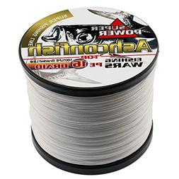 Ashconfish Braided Fishing Line-16 Strands Hollow Core Fishi
