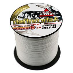 Ashconfish Braided Fishing Line-4 Strands Super Strong PE Fi
