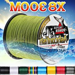 Braided fishing line 8 strands 300m Super Strong Japan Multi