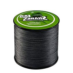 Handing Braided Fishing Line 8 Strands 500m/547yd Gray Color