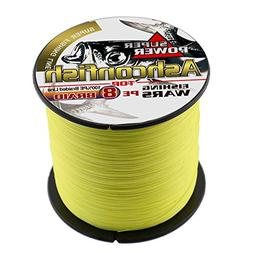 Ashconfish Braided Fishing Line-8 Strands Super Strong PE Fi