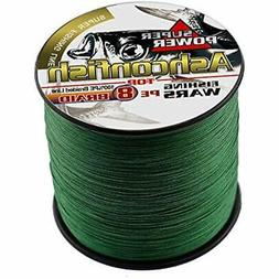 Ashconfish Braided Fishing Line-8 Strands Super Strong Wire