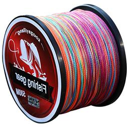 Sougayilang 500m/547Yards 4 Strands 12lb-72lb Multifilament