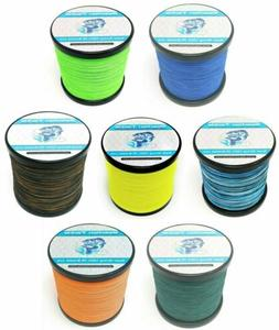 Reaction Tackle Braided Fishing Line- Various Sizes and Colo