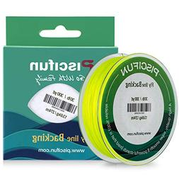 Piscifun Braided Fly Fishing Backing Line 30LB 300yds Fluore
