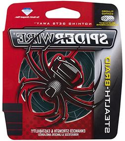 Spiderwire SCS20G-125 Braided Stealth Superline, Moss Green,