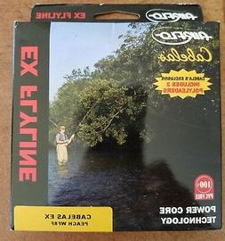 Cabela's EX Fly Line WF8F, by Airflo, Includes 2 Poly Leader