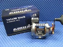 Okuma Cold Water Linecounter Reel, 2+1 Ball Bearings, 5.1:1,