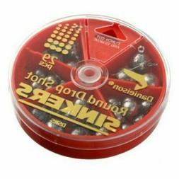 Danielson DSRS Fishing Line Sinker Weights Assorted Round Dr