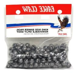 Eagle Claw Removable Split Shot King Pack, 144 Piece