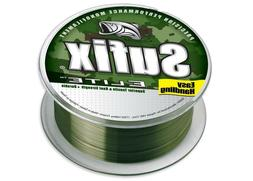 Sufix Elite Monofilament Camo 330 Yards - Green Monofilament