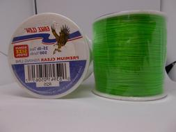 1 eagle claw fishing line 25 lb test 500 yards premium green