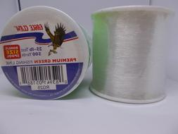 1 eagle claw fishing line 25 lb test 500 yards premium clear