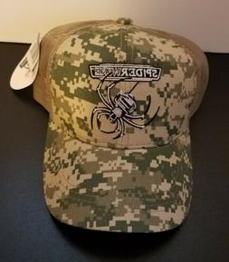Spiderwire Fishing Line Hat Cap Digital Camouflage Fish Spin