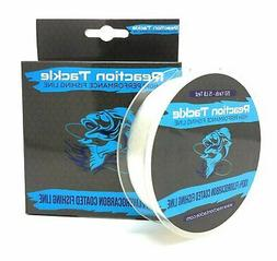 Reaction Tackle Fluorocarbon Coated Fishing Line - 350 Yards