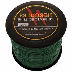 HERCULES 1000m 1094yds Green 10lbs-300lbs Pe Braided Fishing