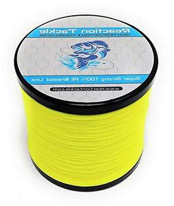 Reaction Tackle Hi Vis Yellow 30LB 1000yd