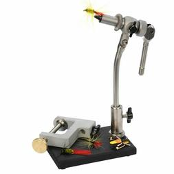 Wolff Indiana Apex In-Line Rotary Fly Tying Vise C-Clamp and