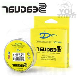 Seaguar InvizX 100% Fluorocarbon Clear Fishing Line 200 Yard