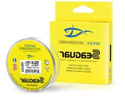 invizx fluorocarbon clear fishing line 200 yards