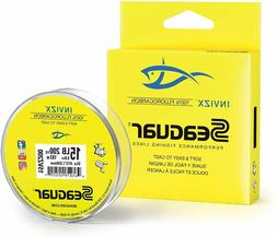 Seaguar InvizX Fluorocarbon Fishing Line 200 yd Spools CHOOS