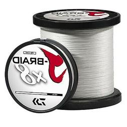 Daiwa J-Braid Fishing Line - 30 Lb Test 330 Yards - White SK