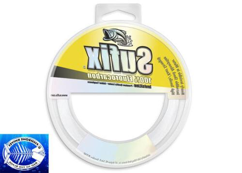 100 percent fluorocarbon invisiline leaders 33 yd