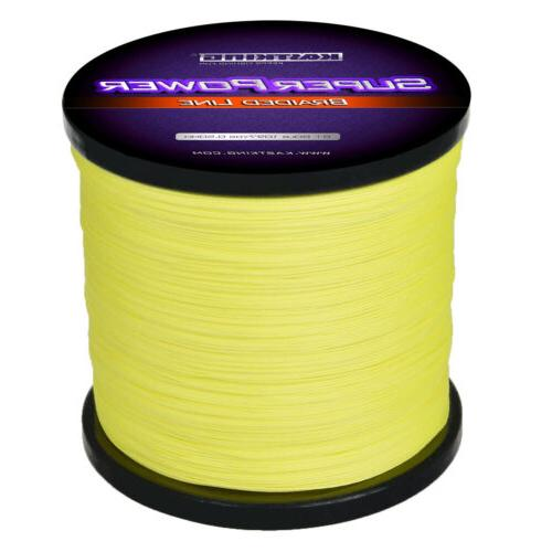 Green KastKing SuperPower Braided Line 547Yds 50lbs Braid Fishing Line