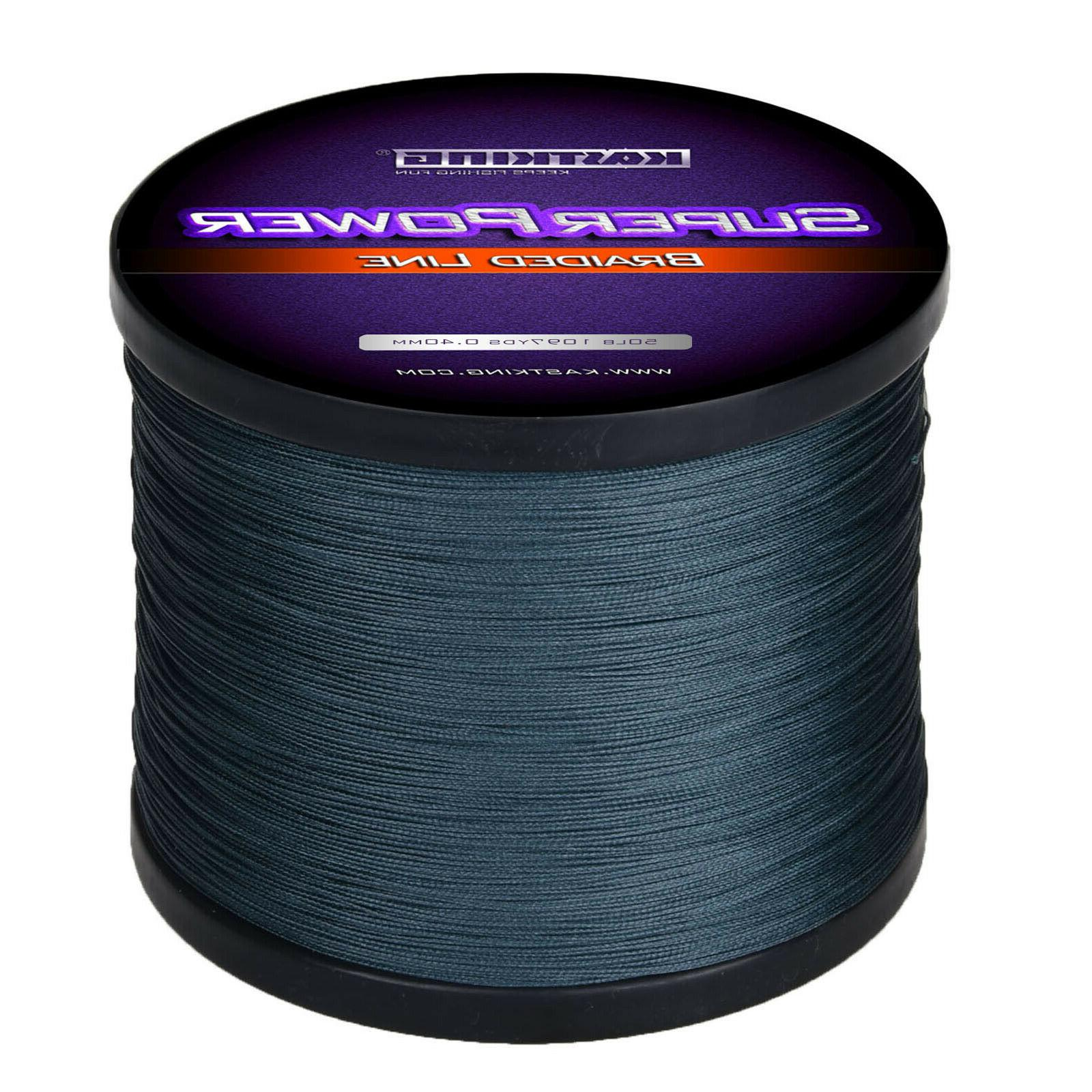 1000m superpower braided fishing line incredible braided
