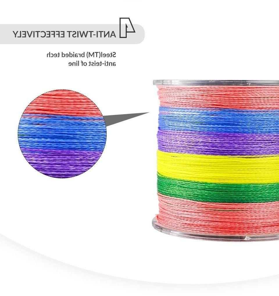 100M Strands Braided Extreme Fishing Line