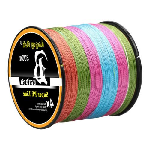 300-1000M Strong PE Spectra Braided Line