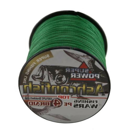 Ashconfish PE Spectra Braided Fishing Line