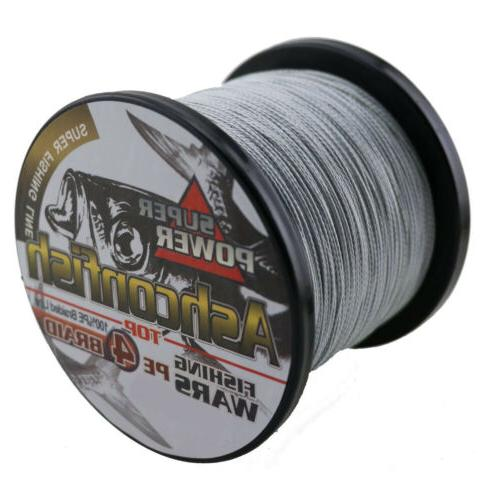 Ashconfish 500M 6-100LB Super Strong Extreme Braided Sea Fishing Line