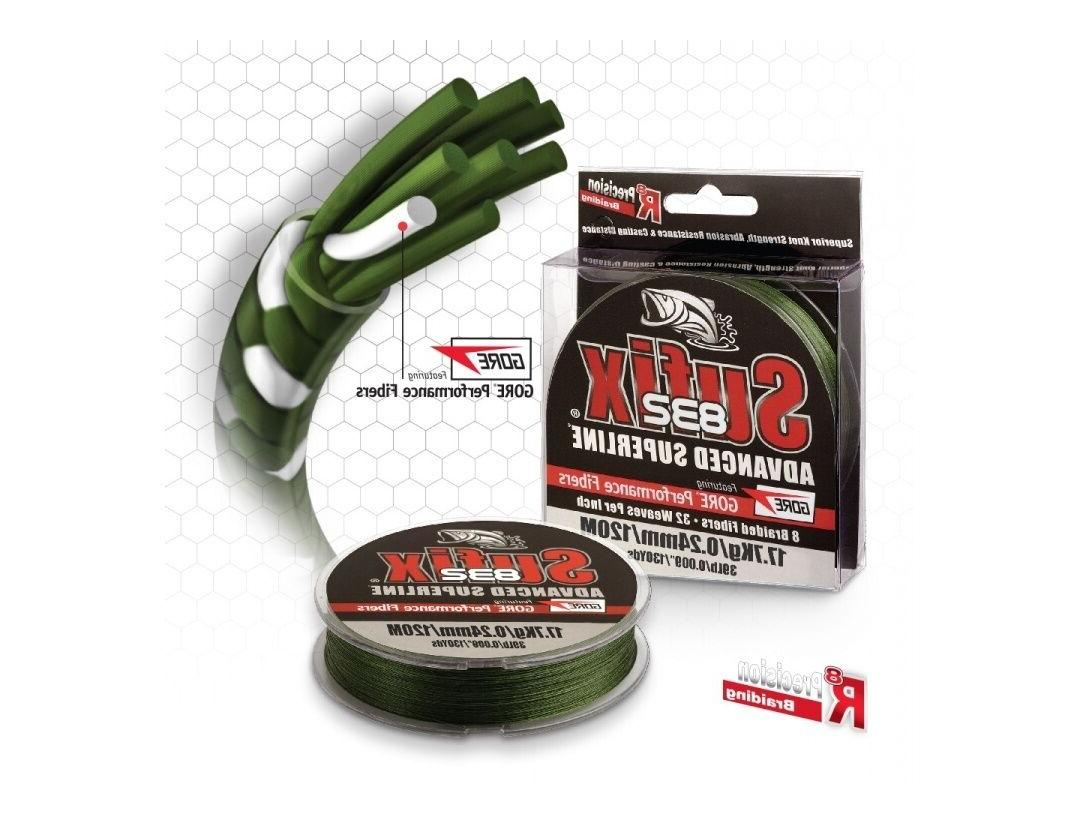Sufix 832 Advanced Superline Braid 600 Yards Fishing Line-Pi