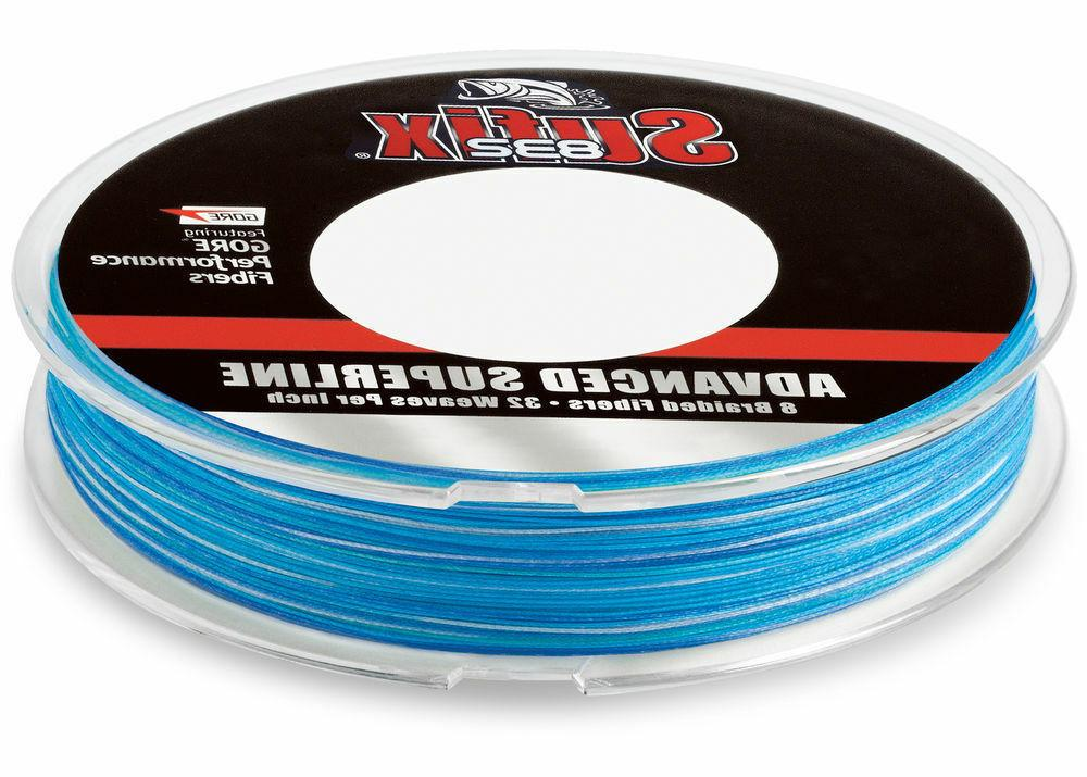 Sufix 832 Advanced Superline Braid 600 Yds. Fishing Line-Blu