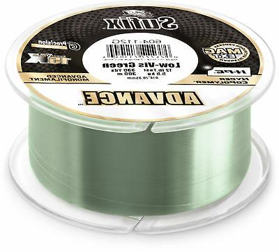 advance lo vis green monofilament 250 330